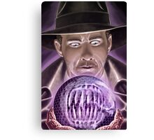 The detective of mistery Canvas Print