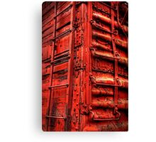Rustic Red  Canvas Print