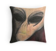 The Night Watchman Throw Pillow