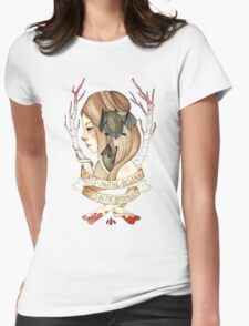 Bats and Bodies Womens Fitted T-Shirt