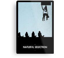 99 Steps of Progress - Natural selection Metal Print