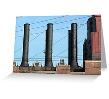 Stacks and Lines 1 Greeting Card