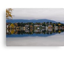 Mirror Lake (New York) Canvas Print