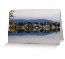 Mirror Lake (New York) Greeting Card