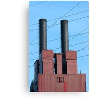 Stacks and Lines 2 Canvas Print