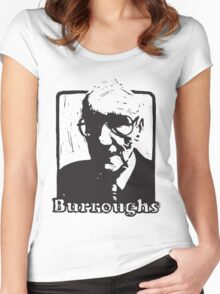 William S Burroughs Women's Fitted Scoop T-Shirt