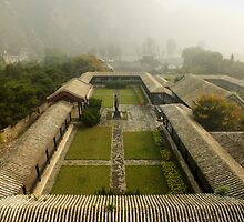 Late Morning Fog at The Great Wall by Lucinda Walter