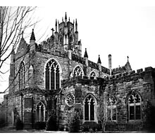 Gothic in Black and White Photographic Print