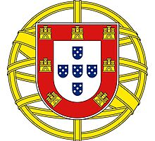 Lesser Coat of Arms of Portugal  Photographic Print