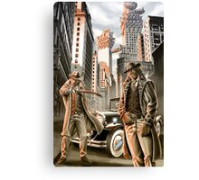 The detectives from other worlds Canvas Print