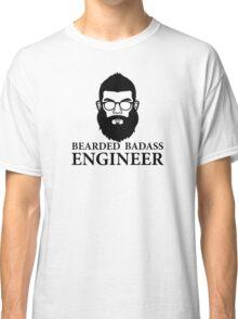 Bearded Badass Engineer Classic T-Shirt