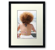 Beautiful Miss Africa Framed Print