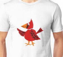 Funny Cool Red Cardinal Bird original Unisex T-Shirt