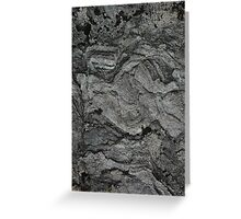 Lichen-covered Rock Greeting Card