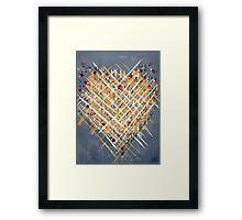 :: You Knit Me Together :: Framed Print