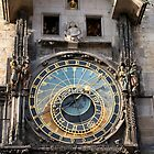 The Prague astronomical clock  by docnaus