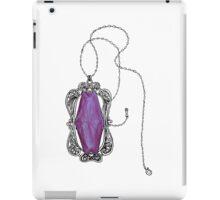 Amethyst Necklace iPad Case/Skin