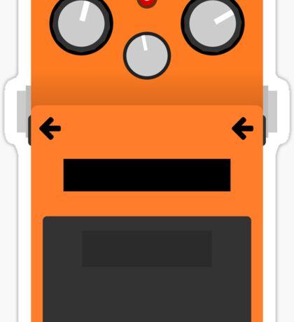 Distortion Pedal Sticker