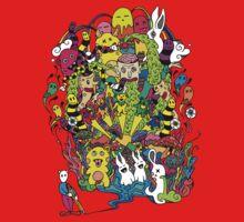LSD Color One Piece - Short Sleeve