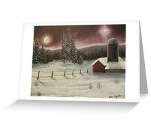 Country Christmas Greeting Card