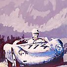 &#x27;Porsche 1957 RSK&#x27; Vintage Racing Spyder by Kelly Telfer