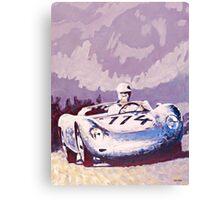 'Porsche 1957 RSK' Vintage Racing Spyder Canvas Print