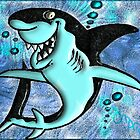 DigiArt Cartoon Shark I by OmarHernandez