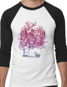 Dreaming Bear  Men's Baseball ¾ T-Shirt