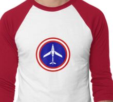 Hunter Killer Drone Men's Baseball ¾ T-Shirt