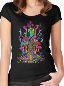 Welcome to Wonderland Women's Fitted Scoop T-Shirt
