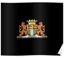 Coat of arms of Rotterdam Poster