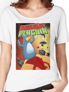 Mega Penguin Women's Relaxed Fit T-Shirt