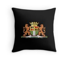 Coat of arms of Rotterdam Throw Pillow