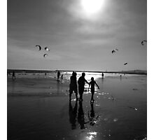 Gray scale seascape Photographic Print
