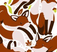 Fox Fire Sticker