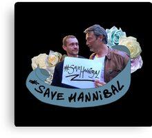 #SaveHannibal Canvas Print