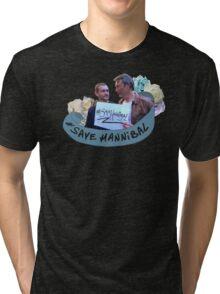 #SaveHannibal Tri-blend T-Shirt