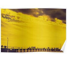 Yellow Pier Poster