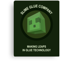 Making Leaps In Glue Technology Canvas Print