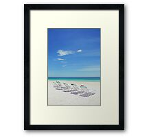 Florida Relaxation Framed Print