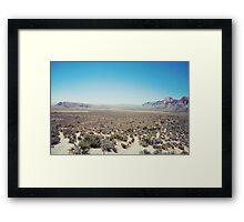 Nevada Emptiness  Framed Print