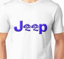 JEEP SKULLS Blue Unisex T-Shirt
