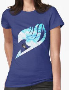 Gray tail Womens Fitted T-Shirt