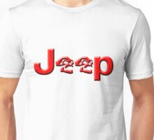 JEEP SKULLS Red Unisex T-Shirt