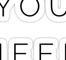 Minimalism Sticker
