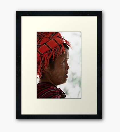 Inle Lake: Hill Tribes Framed Print
