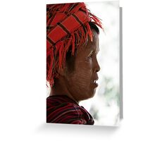 Inle Lake: Hill Tribes Greeting Card