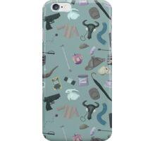 Sherlock Themed Pattern iPhone Case/Skin