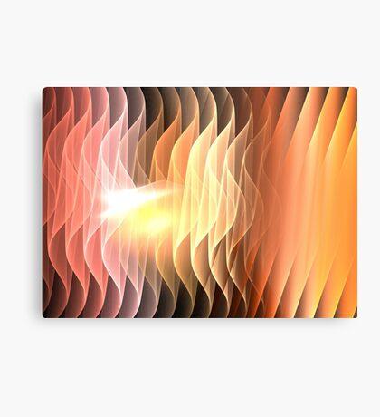 Desert Waves Metal Print