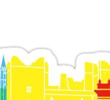 Bolton skyline pop Sticker